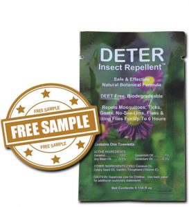 Free Deter Natural Insect Repellent
