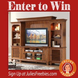 Win an Allegheny Entertainment Center