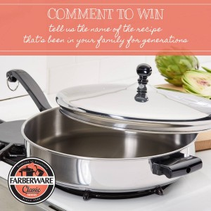 Win a Farberware Covered Saute Pan
