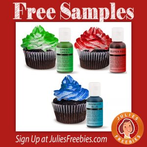 Free Chefmaster Food Coloring Samples