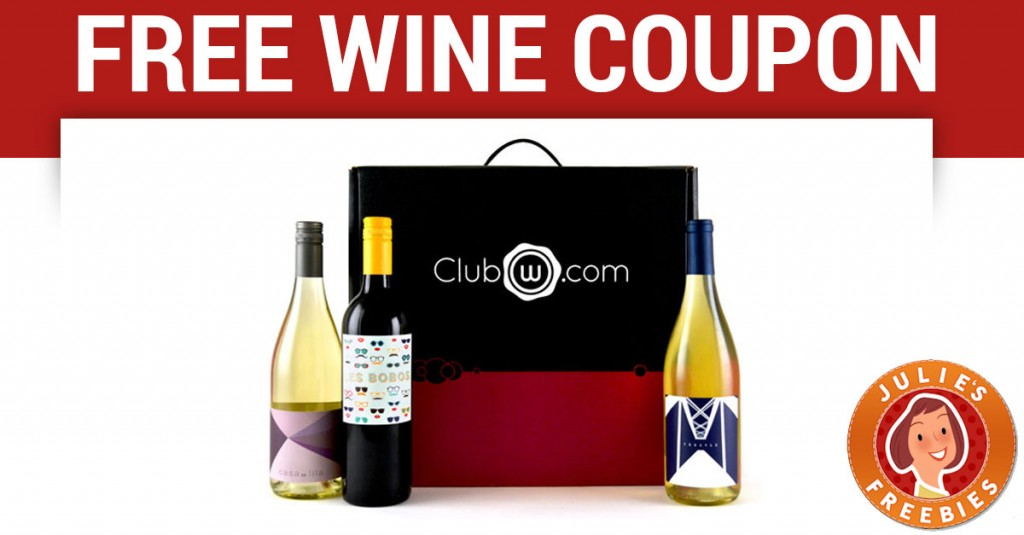 EXCLUSIVE $26 Off Wine Coupon from Club W