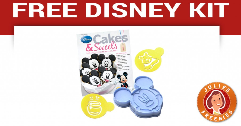 Free Disney Sweets & Cakes Kit