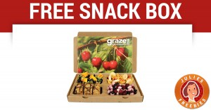 Free Graze Snack Box with FREE Shipping
