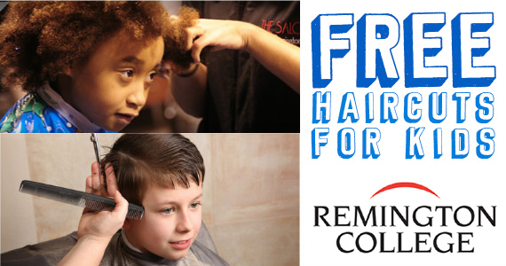 Free Cuts For Kids At Remington College