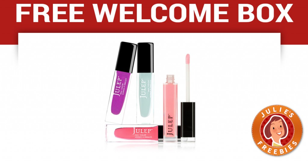 Free Julep Welcome Box ($58 Value)