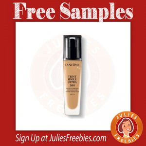 Free Lancome 24 Hour Foundation Samples