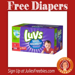 Free Luvs Diapers with FREE Store Pickup