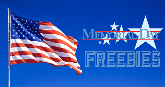 Memorial Day Freebies and Deals