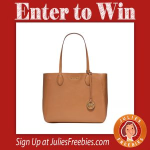 Win a Michael Kors Leather Tote