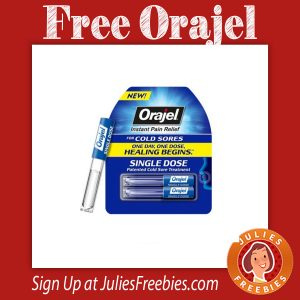 Possible Free Orajel Cold Sore Treatment from Smiley360