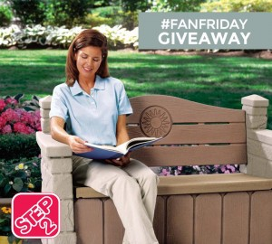 Win a Step2 Outdoor Storage Bench