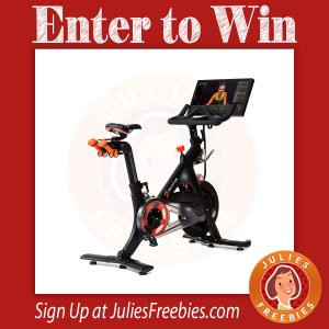 Win a Peloton Bike - Freebies List | Freebies by Mail | Free