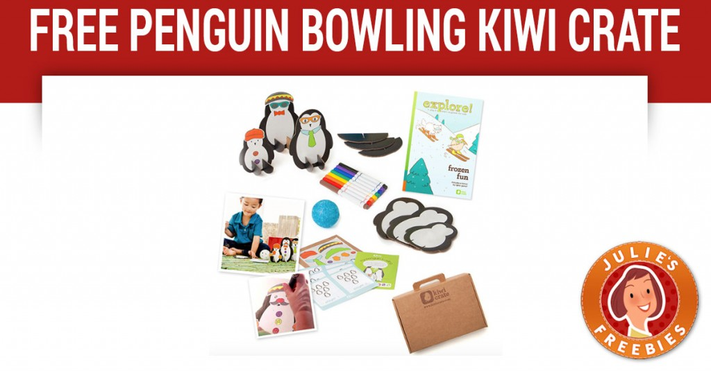 Free My Penguin Bowling Kiwi Crate