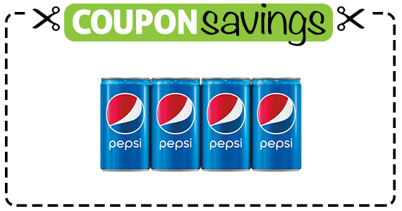 Save $1 off 2 Pepsi 12P Cans