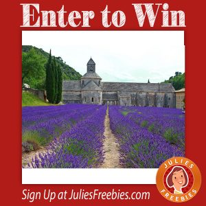 L'occitane Trip to Provence Sweepstakes