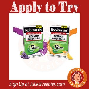Possible Free Robitussin from Crowdtap