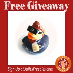 Free Lufthansa Rubber Duck Giveaway