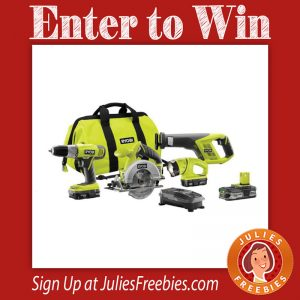 Enter to win a Ryobi Combo Kit