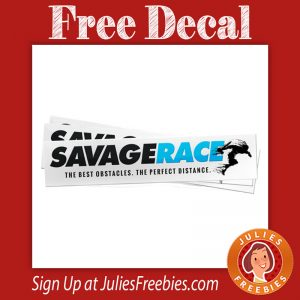 Free SavageRace Decal