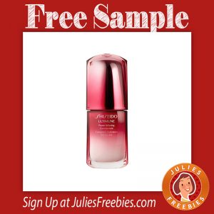 Free Shiseido Anti-aging Concentrate