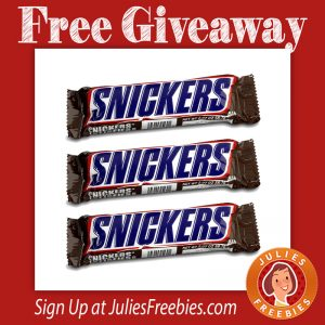snickers-giveaway