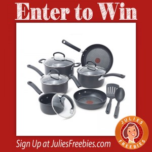 Win a T-Fal Cookware Set