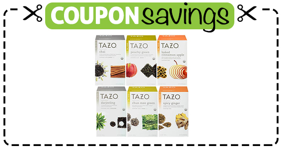 Save .50 off any 2 Tazo Teas