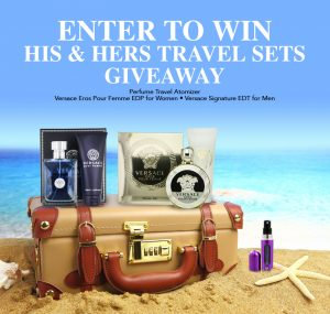 Win His and Hers Versace Travel Sets