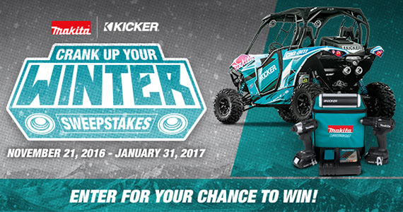 Win a Can-AM ATV & Makita Tools