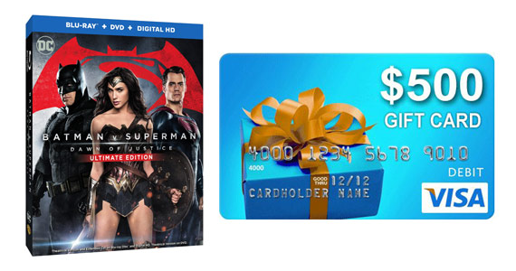 Win a Copy of Batman Vs. Superman