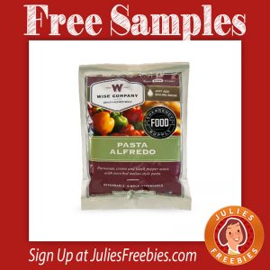 Free Wise Company Emergency Food Samples