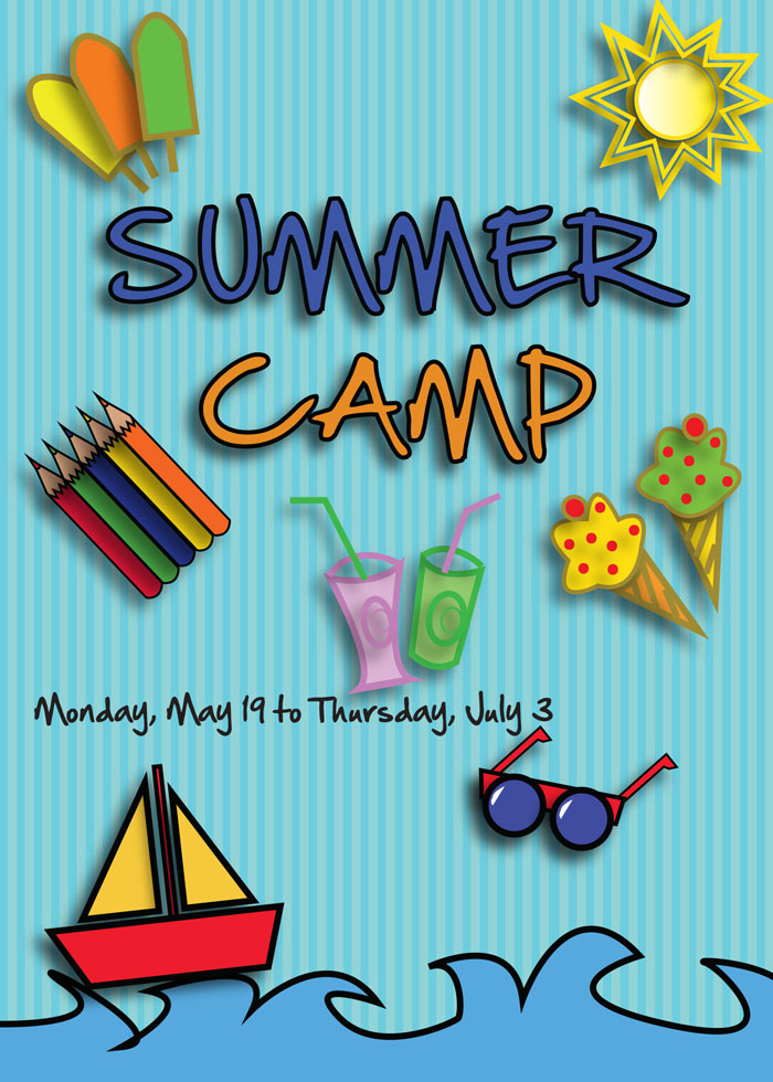 Free Flyer Template for Summer Camp Events