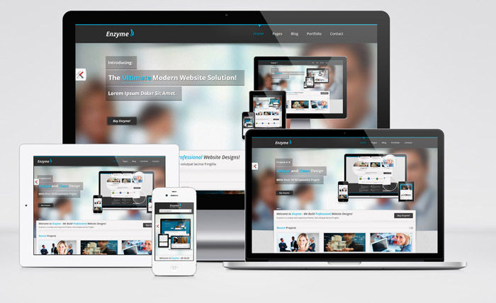 Enzyme : Free Responsive Business HTML Template