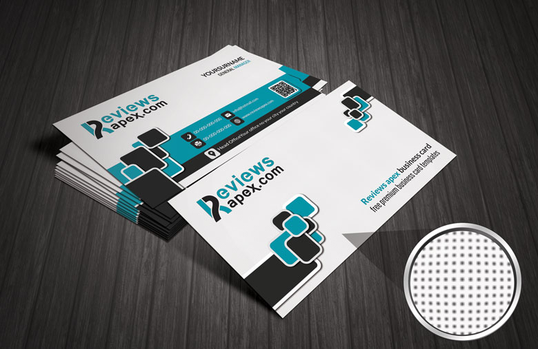 Modern White Business Card Template