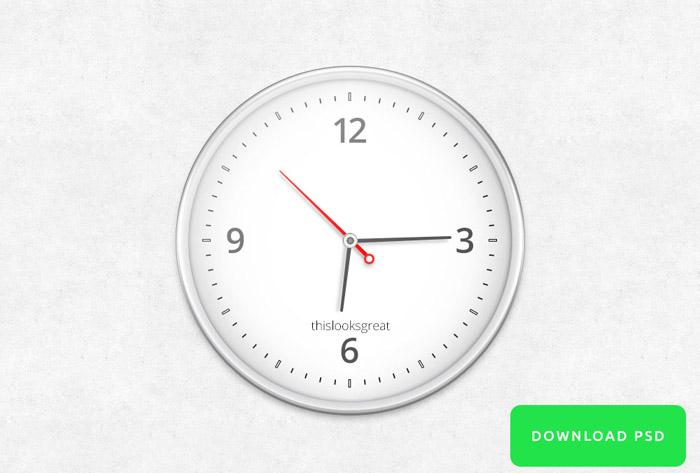 Realistic PSD Clock