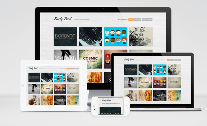 Early Bird : Free One Page Portfolio HTML Template