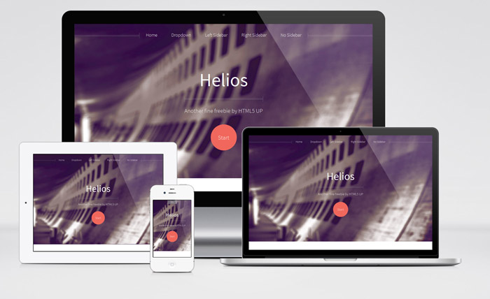 Helios : Free Responsive Business Html5 Template