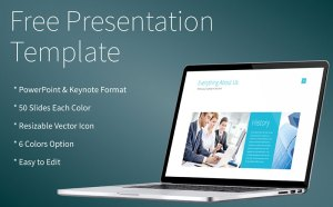 Free Modern and Clean PowerPoint Template