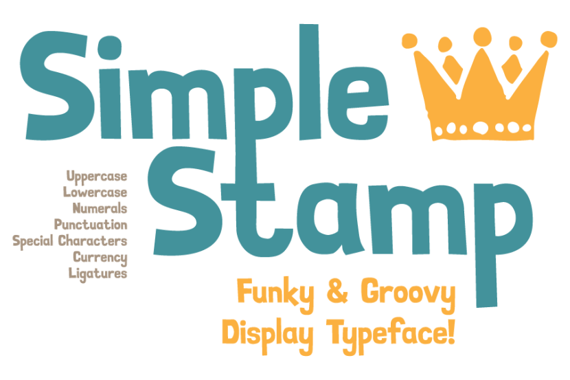 Simple Stamp Free Font