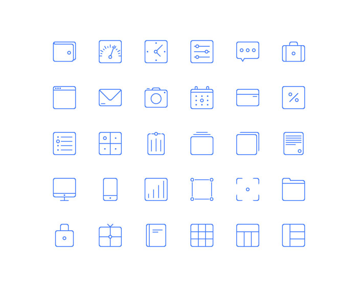 Sunday Vector Icons