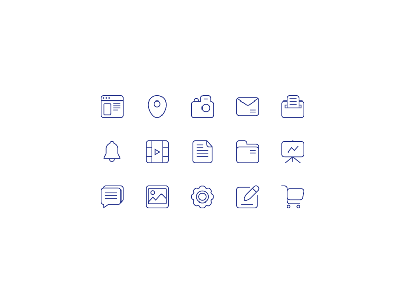 15 Free Useful Vector Icons