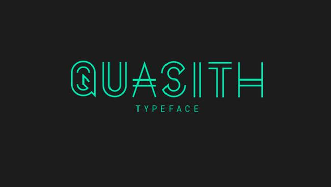Quasith Free Typeface