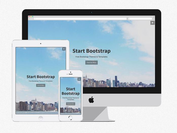 Stylish Portfolio : Free One Page Bootstrap Portfolio Theme