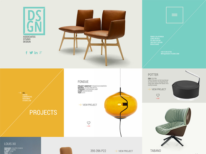 DSGN – Free PSD Template for Portfolio Website