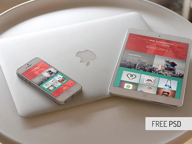 Free iPhone and iPad Mockups