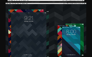 Free Geometrix Wallpapers for Mobile Device