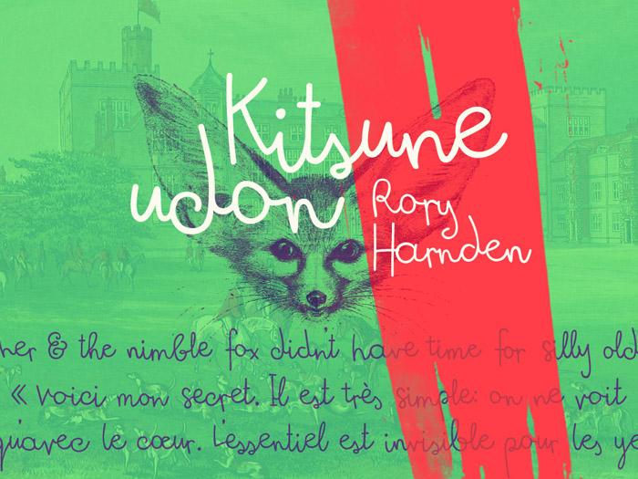 Kitsune Udon Free Font