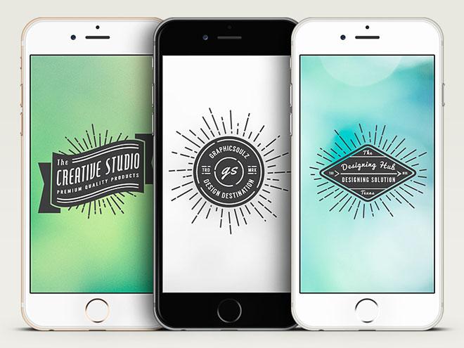 3 Free Vector Iphone 6 Mockups