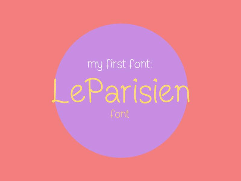 LeParisien Free Font