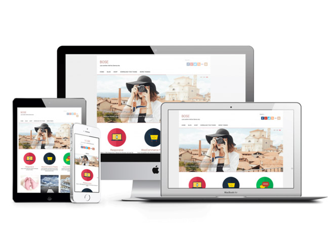 Bose : Free Multipurpose WordPress Theme